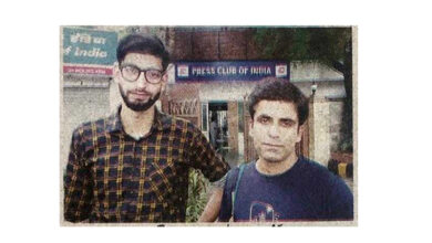 Photo of Duo Nasar and Amar came forward to help Kashmiri students
