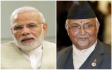 Nepal PM wishes Modi on his 69th birthday in three languages