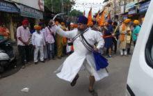 550th Gurunanak Jayanthi Procession in Hyderabad