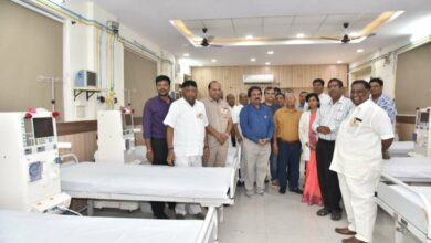 Photo of Gandhi Hospital gets four new Dailysis machines