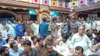 Photo of Locals guard Hindus, temple after principal accused of blasphemy