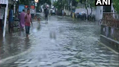 Photo of Heavy rains lead to water-logging in several parts of Patna