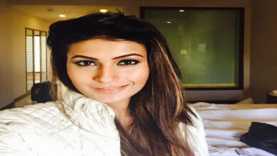 Photo of Pavitra Punia's TV show costume weighs 25 kilos