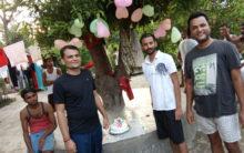 Criminal cutting cake in jail, video goes viral