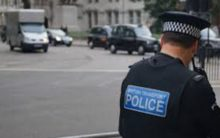 Police recovers arms cache during raid in central London