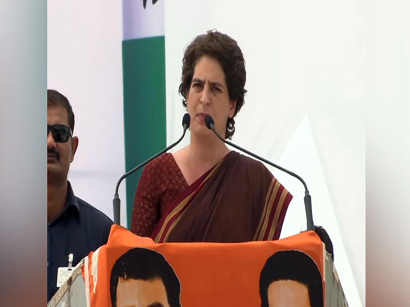 Priyanka hits back at Gangwar over 'job jibe'