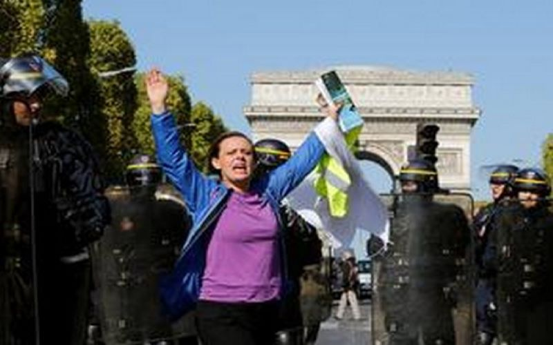 Yellow Vest Protest: Police detains 90 demonstrators in Paris