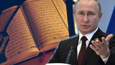 Photo of Putin quotes the Holy Quran