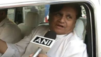 Photo of Ahmed Patel not allowed to meet Shivakumar