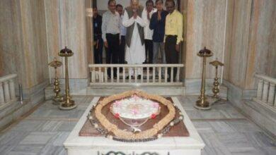 Photo of Industrialist Rahul Bajaj visits Dr Hedgewar Smruti Mandir