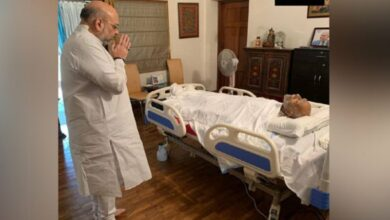 Photo of Amit Shah mourns veteran lawyer Ram Jethmalani's demise