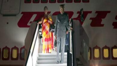 Photo of President Kovind arrives in Slovenia