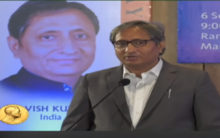 Listen to pure 'Hindiwala' Ravish's Magsaysay speech in English