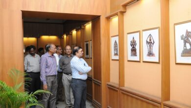 "Special Photo Exhibition of ""Durga the Goddess"" at Salar Jung"