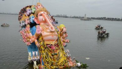 Photo of Hyderabad: Biggest Khairatabad Ganesh immersed in record time