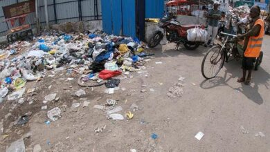 Photo of Old Charminar bus stand turns into the garbage dump