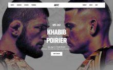 UFC 242: Khabib defending his title at Abu Dhabi tonight