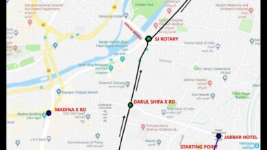 Photo of Traffic diversions for Bibi-ka-Alam procession in Hyderabad