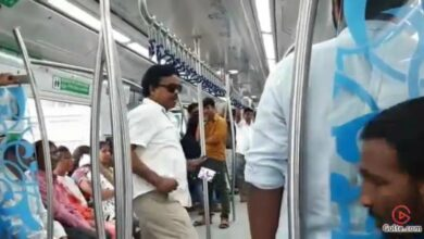 Photo of Ex-AP MP's kin held for nuisance on Hyderabad Metro Rail