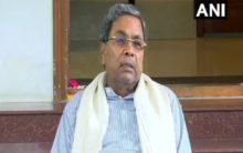 Karnataka: Siddaramaiah attacks Centre for slump in economy