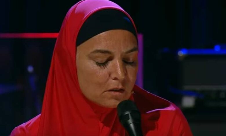 Sinead O'Connor steps out in hijab