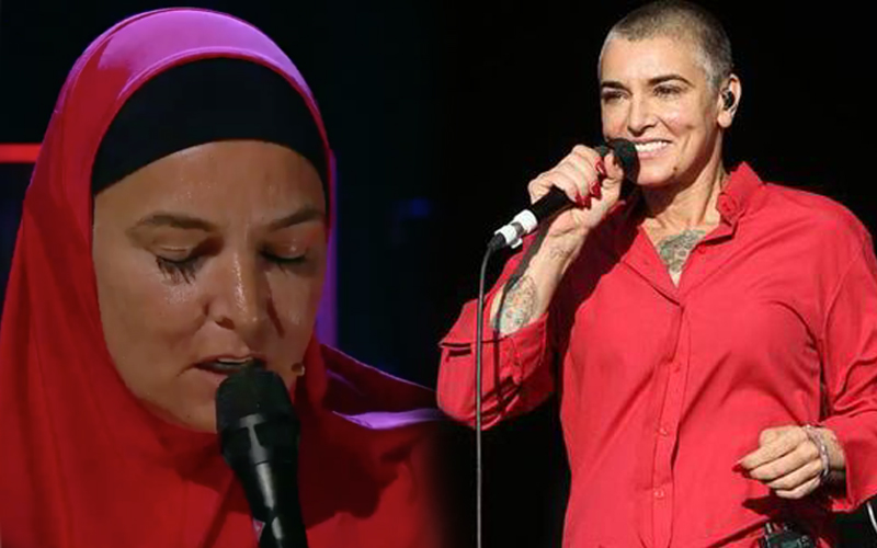 Image result for After embracing Islam life become peaceful said the Irish singer Sinéad O'Connor