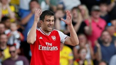 Photo of It was my mistake: Sokratis after Arsenal's 2-2 draw against Watford