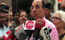 Swamy asks Centre to acquire land for Kashi, Mathura