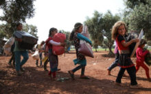 UK begins to repatriate British orphans in Syria