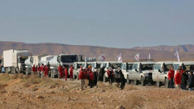 Photo of Aid sent to displaced Syrians near Jordan border: UN