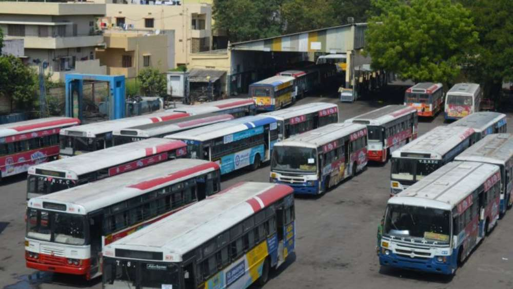 No money to pay September salaries: TSRTC to HC