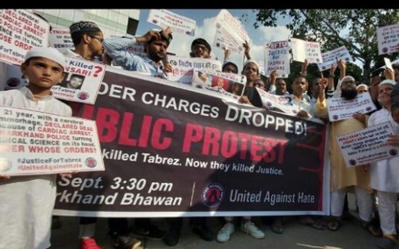 Massive protest to demand justice in Tabrez lynching case