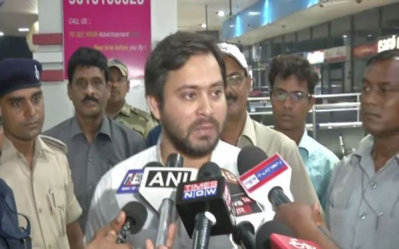 Few hours of rains in Bihar exposes Nitish govt's tall claims: Tejashwi