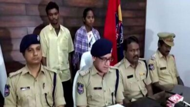 Photo of Maoist couple with Rs 8 lakh bounty surrenders in Telangana