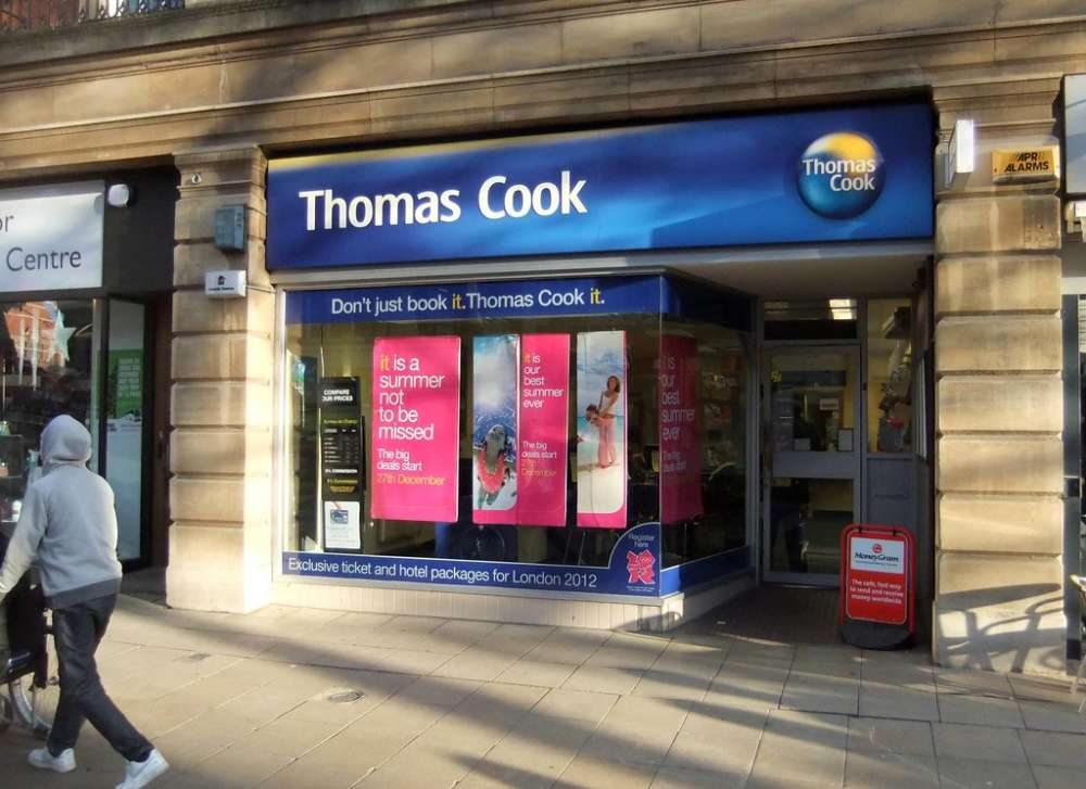 UK travel giant Thomas Cook collapses, 22,000 jobs cut