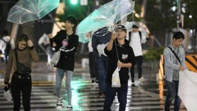 Photo of Typhoon Faxai makes landfall in Tokyo, travel chaos expected