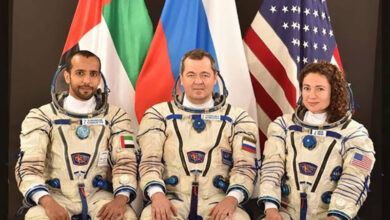 Photo of UAES' First-Ever Astronaut