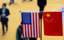US-listed Chinese firms trade higher