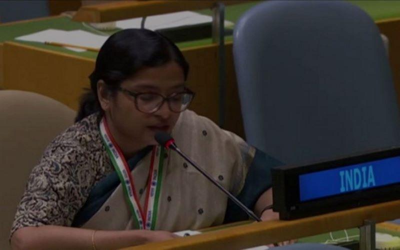 Pak PM's threat of nuclear devastation, not statesmanship: India