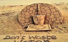 Sudarsan Pattnaik calls for water conservation through sand art