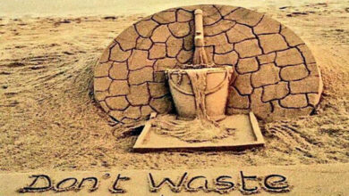 Photo of Sudarsan Pattnaik calls for water conservation through sand art