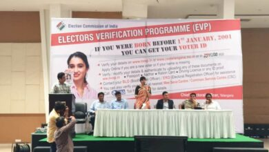 Photo of Hyderabad: Techies informed about voter verification