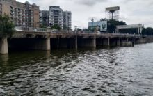 Water level rises in Hussain Sagar Lake