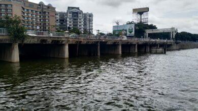Photo of Water level rises in Hussain Sagar Lake