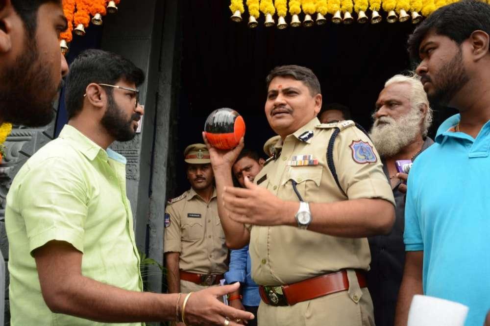Rachakonda PC Mahesh Bhagwat visit Balapur Ganesh