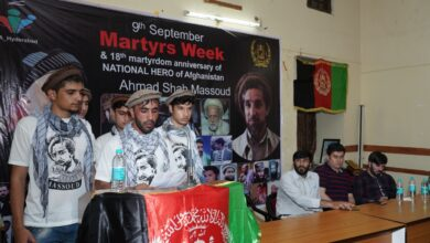 Hyderabad: Afghan hero Ahmad Shah Massoud remembered