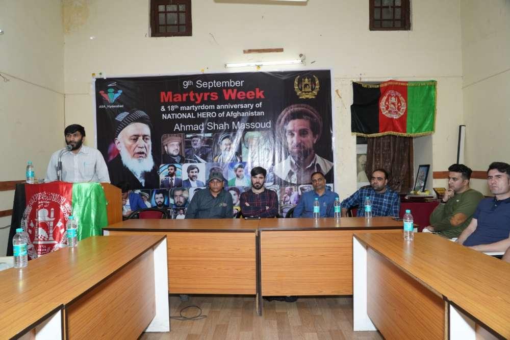 Hyderabad: Afghan hero Ahmad Shah Massoud remembered