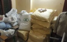 Tobacco worth Rs.10 Lakh seized in Hyderabad