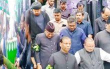AK khan visits Bibi Ka Alawa