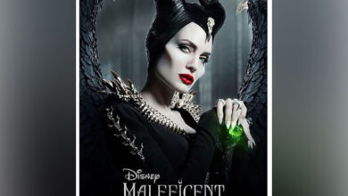 Photo of Disney's video shows how Angelina Jolie transforms into a villain
